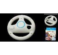 Nintendo WII remote control on the steering wheel