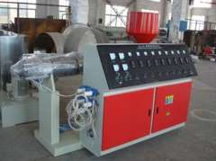 SJ65\25 60kg\h Single pvc pipe machine with price