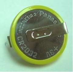 CR2032-HF-I button battery with PIN feet