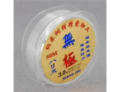 Wuji Setline Fishing Line 50m 0.28mm 3.0# (White)