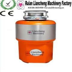 kitchen garbage disposer with AC induction motor with air switch 220V 2 grind stage
