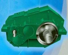 Dotted line gear reducer