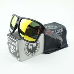 DRAGON The JAM Sunglasses Men Cycling Eyewear Retail 2014 New Surfing coating sunglass Women with original packaging