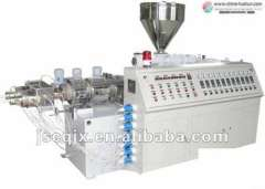 SJSZ92 Twin Screw Plastic Extruder for plastic PVC PP PE Pipe