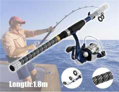 1.8 m Fishing Rod & ZA2000 Fishing Reel Set