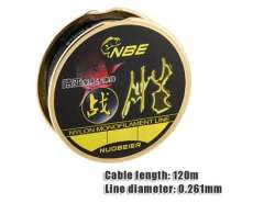 2.5# 0.261mm 120m Lure Nylon Monofilament Fishing Line (Black)