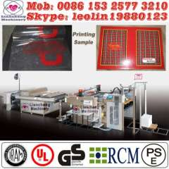 manual curve screen printer France designing Patented imported parts 130% working efficiency
