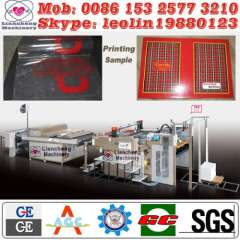 auto flat screen printing machine France designing Patented imported parts 130% working efficiency