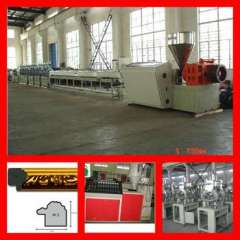 HOT stamping machine for profiles