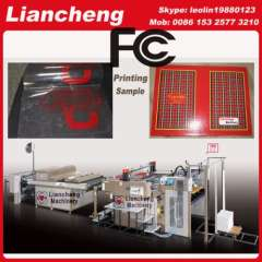 automatic flat silk screen printing machine designing Patented imported parts 130% working efficiency