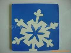 Serving bar mats/coasters – variously shaped silicone materials can be customized