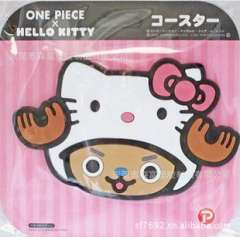 helloKitty coaster | PVC environmental coaster | build a large number of supply | fine quality Attractive Epoxy Products