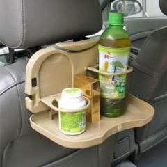 Car cup holder | backseat | Features small table | beverage holders | Shelves | cup holder