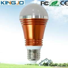 Top selling warm white 5w E27 led bulb light