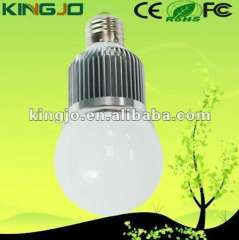 2013 Frosted high quality cree chip 5W e27 or e14 led bulb