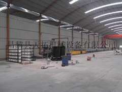 FRP lighting sheet production line