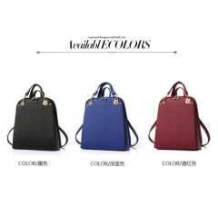 Lady new fashion trendy dual-use shoulder bag backpack