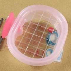 Japan imported elastic space SOAP tray-pink (085731)