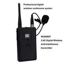 Sell 2.4Ghz Wireless digital Tour Guide System\Audio guide transmitter with Microphone WUS068T for conference and tourism