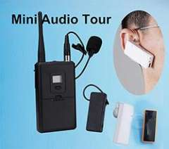 Mini Ear-hook listening receiver Pro-ear Tour Guide System WUS2408