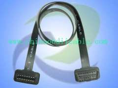Ultra-thin OBD2 Male to OBD2 Female Cable(OBD2 Extension Cable, 16Pins)