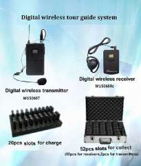Sell Professional Tour Guide System Digital Audio Guide Transceiver for exhibiton\tourism\factory tour\school teaching\power plants\simultaneous interpretation