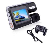 HD 720p Dual Lens Dashboard Car Vehicle Camera Video Recorder DVR Cam G-Sensor