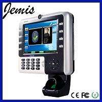 8' screen fingerprint time attendance with access control machine