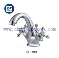 cold and hot water faucet