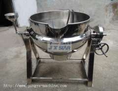 Tilting Jacketed Steam Kettle For Liquid Drink