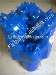 mill tooth tricone drill bits with tungsten carbide for well drilling