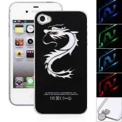 Long | LED flash | calls induction Phone Case for iPhone4 / 4S