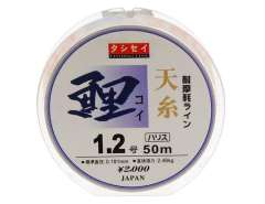 50 m 2.46 kg 1.2# Japanese Origin 100% Fluorocarbon Fishing Line (White)