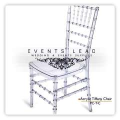 Acrylic Chair, Tiffany Chair