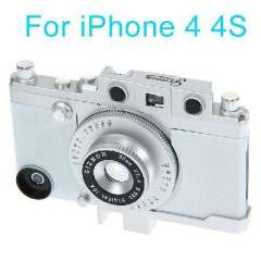 Vintage Camera Profile | Mobile Shell | tri-color optional | black / silver / white iphone 4 / 4S