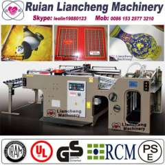 Automatic t shirt logo print machine for paper production linear touch high precision imported parts inverter control PLC