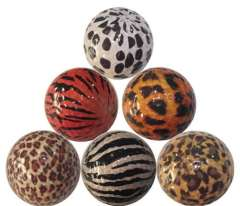 Supply golf ball pattern gift | Golf leopard camouflage ball | manufacturers beautifully crafted production