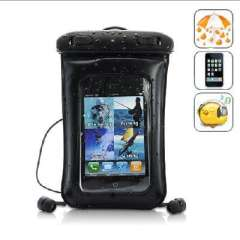 iPhone / iPod Touch / Android Smartphones waterproof bag | with headset Earphones