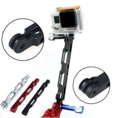 New Aluminum CNC Gopro Extender Self-timer Holder Mounter 16CM for Gopro Hero HD 3+ 3 2 1 Just for you