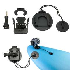 Durable Surfboard Surfing Mount Kit Set Tethers With 3M VHB for Gopro Hero 3+ 3 2 1 Camera Snow