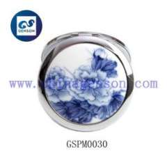 chinaware sheel pocket mirror