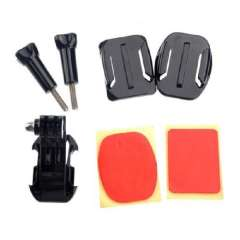 New Camera Curved Helmet Front Mount Holder Set For GoPro HD Hero 1 2 3 3+ Just for you