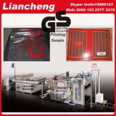drinking glass screen printing machine France designing Patented imported parts 130% working efficiency