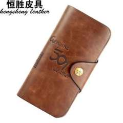 Wallets | factory wholesale PU wallet | Korean soft leather wallet | Short Wallets | card package | long section