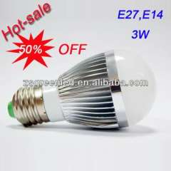 Special Offer 50% Off Good Quality Led Bulb with Creamy white lamp shade
