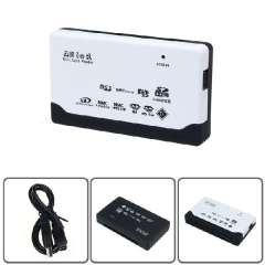 New USB 2.0 Card Reader for SD XD MMC MS CF SDHC TF Micro SD M2 Adapter Just for you