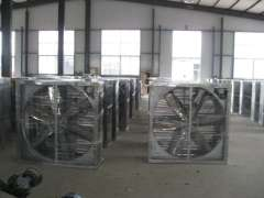 poultry fan evaporative cooling pad