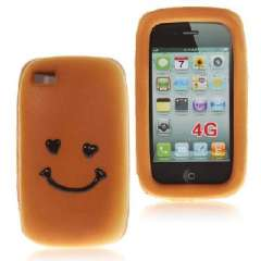 IPHONE4 bread case | Smiley face | Yellow