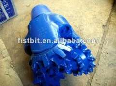 API 5' tricone bits for soft formation drilling---three cone mill tooth bit
