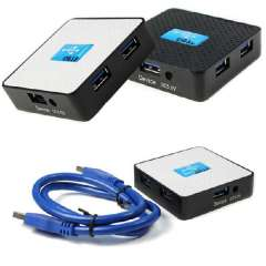New High-end Super Speed 5Gbps External USB 3.0 4 Ports Hub Adapter For Laptop PC Just for you
